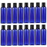 Beaupretty 20pcs Reiseflaschen Kunststoff Leerflaschen mit Klappdeckel Kosmetik Wasser Organizer...