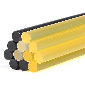 11x270mm, 5 PCS Black /& 5 PCS Yellow VARACL Paintless Dent Removal Glue Sticks,10 PCS Hot Melt Glue Sticks for Car Auto Body Repair Paintless Dent Removal Tool Kit