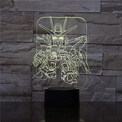 3D Night Light Lamp Chambre Décoration Cartoon Touch Sensor Enfants Enfants Gadget Gift Mau Night Light Led Decoration Lamp