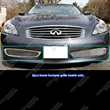 APS Compatible with 08-10 Infiniti G37 Coupe Lower Bumper Mesh Grille Insert N19-T63257N
