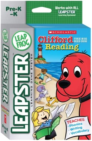 Very Free Shipping New popular LeapFrog Leapster Learning Scholastic Clifford Game: