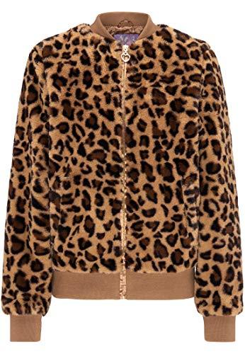 myMo Blouson Damen 12302590 Leopard, S