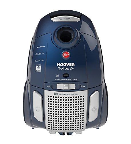 Hoover TE80PET Aspirateur Traineau avec Sac Telios Plus Silencieux A+Aaa spécial animaux et Parquet