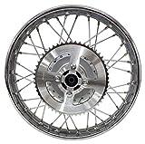 Compatible with Yamaha 02-Up TTR125 TTR 125L 16' Rear Complete Wheel Rim Spokes Hub Sprocket
