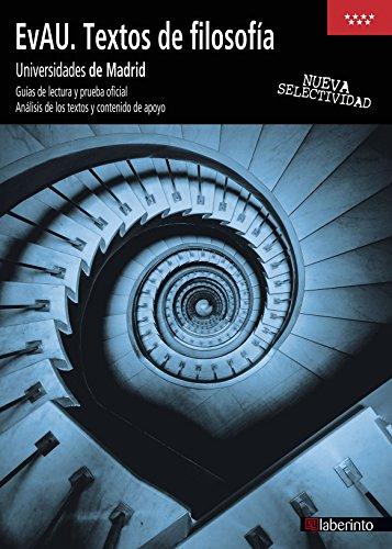 EvAU. Textos de filosofía. Universidades de Madrid - 9788484839019