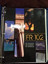 Fr 102 University of Hawaii At Manoa and Workbook/lab Manual to Accompany Vis-a-vis: Beginning French