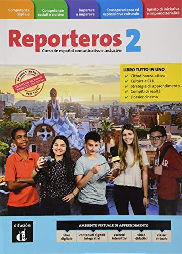 Reporteros Italia. Libro del alumno. Cuaderno. Per la Scuola media. Con e-book. Con espansione online [Lingua spagnola]: Vol. 2