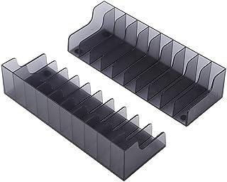 Wendry 2 PCS Rack de Stockage de CD de Jeu, boîte de Cartes de Jeu de Grande capacité de Haute qualité, Support de Support...