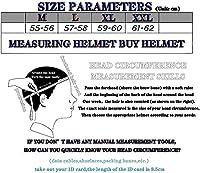 レトロモーターサイクルハーフヘルメットオープンフェイスバイクヘルメット DOT 承認済みヴィンテージスカルキャップベースボールキャップ 頭部の安全保護用 F,M 55-56