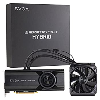 EVGA GeForce GTX TITAN X 12GB HYBRID GAMING  All in One  No Hassle Water Cooling Just Plug and Play Graphics Card 12G-P4-1999-KR