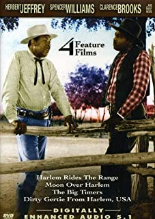 Race Movies: Harlem Rides the Range/Moon Over Harlem/Big Timers/Dirty Gertie From Harlem, USA