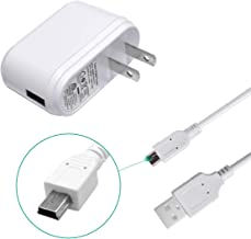 USB Charger and Plug Adapter with USB Cable for Electric Massager, Media MP3 MP4 Player (5V 550mA)