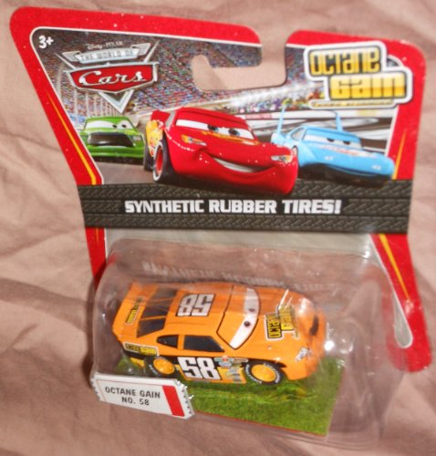 Disney / Pixar CARS Movie Exclusive 1:55 Die Cast Car with Synthentic Rubber Tires Octane Gain