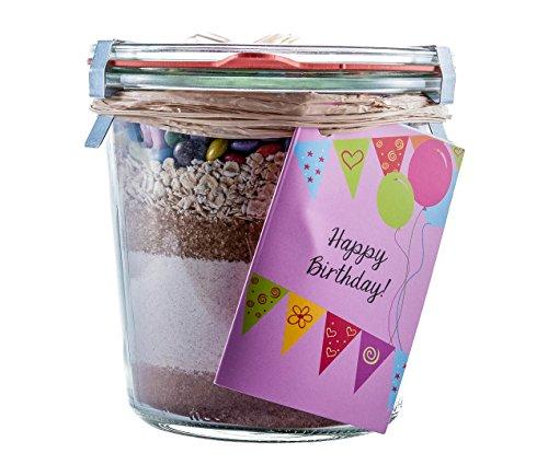 Löbke Hof Backmischung Geburtstags-Kuchen