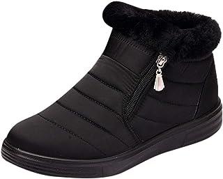 Mayogo sneeuwschoenen heren en dames paar winterkatoen klassieke laarzen warm gevoerd, outdoor boots werkschoenen, waterdi...