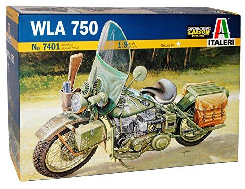 HarIey Davdson HD WLA 750 US Arme 2. Weltkrieg 7401 Kit Bausatz 1/9 Italeri Modell Auto Modell Auto
