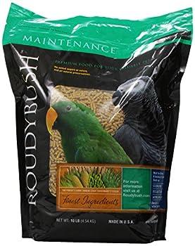 RoudyBush Nourriture pour Oiseaux d'entretien Quotidien Taille S 10 Livres