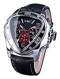 Jaragar Fashion Sport Triángulo Racing Design Reloj de pulsera automático para hombres