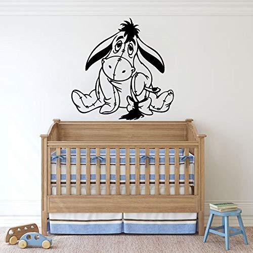 Oso Decoración de la habitación de los niños Pegatinas de pared Habitación de los niños Habitación de las niñas Pegatinas de pared de dibujos animados