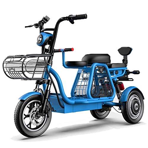 YAMAXUN Patinete Eléctrico Triciclo Eléctrico con Tres Asi