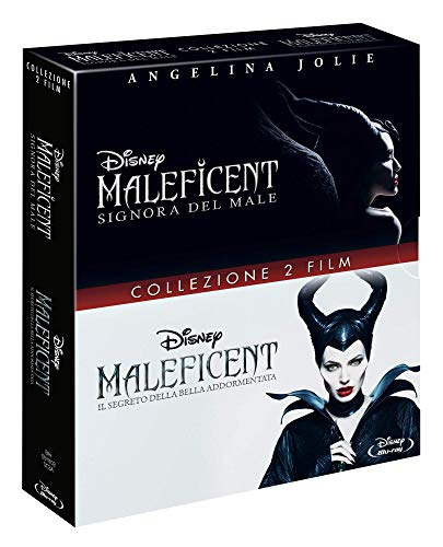 Locandina Maleficent Cof 1,2  (2 Blu Ray)