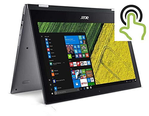 Acer High Performance Spin 11.6inch FHD Multi-Touch Laptop, Intel Pentium N4200 Quad-core Up to 2.5GHz, 4GB RAM, 64GB SSD, WiFi, Bluetooth, HDMI, Win10(Renewed)