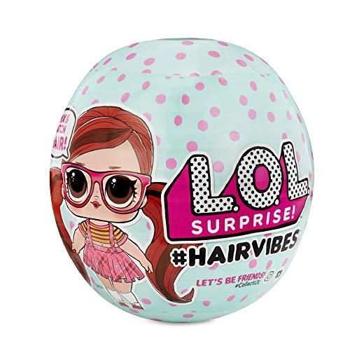 L.O.L. Surprise! Giochi Preziosi - LOL Hairvibes, Assortiti, 8056379089988 [Versione Italiana], Multi