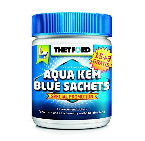 Preisvergleich Produktbild Thetford Aqua Kem Blue Sachets 18 Beutel