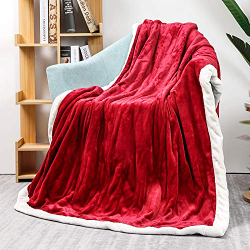 Homde Heated Blanket Electric Throw 50'' x 60''...