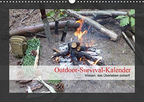 Outdoor-Survival-Kalender (Wandkalender 2021 DIN A3 quer)