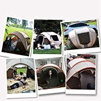 Camping Automatic Pop Up Tent 5-8 Person Portable Folding Outdoor Quick-Opening Beach Tents 100% waterproof Anti UV for…
