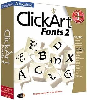 ClickArt Fonts 2