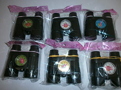Schnooridoo 6 x Fernglas mit Kompass Pirat Seeräuber Mitgebsel Kindergeburtstag Giveaway