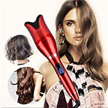 Styling Tools, Automatic Curling Iron Professional Hair Curler Products for All Hair Types (Color : Red)