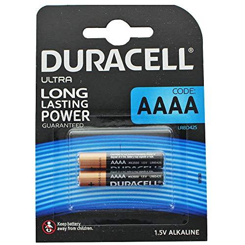 Duracell MN2500 Ultra Mini (AAAA)-Batterie Mini (AAAA) Alkali-Mangan 1.5 V 600 mAh 2 St.