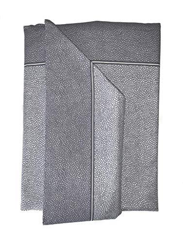 Sábanas individuales con fantasía, medidas: 90 x 200 + 25 cm, color: Borbonese Gris