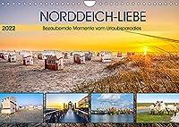 NORDDEICH-LIEBE (Wandkalender 2022 DIN A4 quer): Bezaubernde Momente vom Urlaubsparadies (Monatskalender, 14 Seiten )