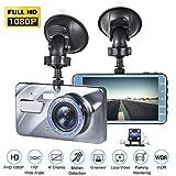 4K UHD DVR Dashboard Car Cameras with 170¡ãWide Angle Night Vision G-Sensor...
