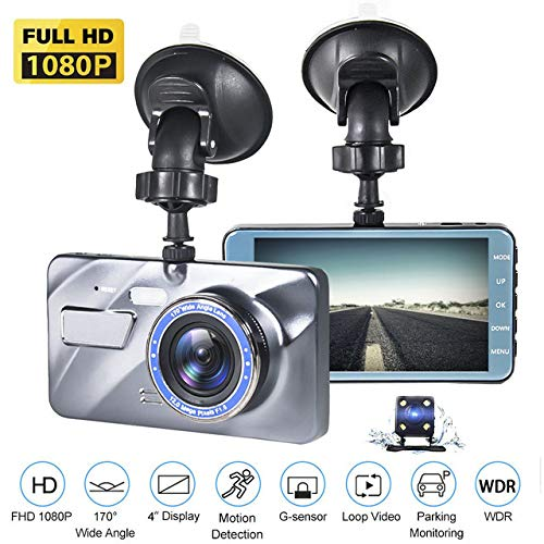 4K UHD DVR Dashboard Car Cameras with 170¡ãWide Angle Night Vision G-Sensor Parking Monitor and Motion Detection