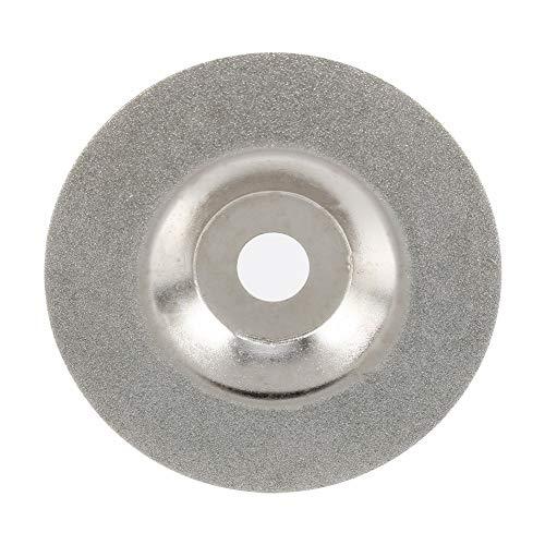 Muela abrasiva - Esmeriladora de ángulo Esmerilado Rueda de corte Discos de la aleta Muela de diamante Diamante, 100 mm / 4 pulgadas