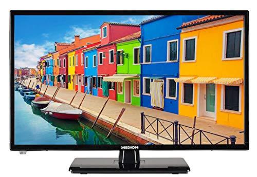 MEDION® Life E12205 MD21476 TV 54,6 cm (21,5 pulgadas), pantalla Full HD, sintonizador triple HD, antena DVB-T2 HD, adaptador para coche, reproductor multimedia integrado