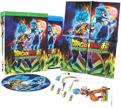 Dragon Ball Super: Broly-Collector's Edition [Edizione: Regno Unito] [Blu-Ray] [Import]