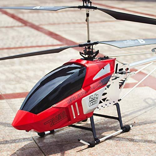 Lotees RC helicóptero niños Juguete Super Grande Radio Control Remoto 3.5 Canal 2.4ghz gyro RC helicóptero Llevado Interior al Aire Libre Control Remoto Volando avión gyro niños juguet