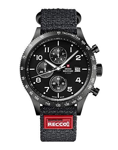 Swiss Military - Cronografo sportivo con riflettore Search & Rescue SM34084.07.R