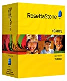Rosetta Stone Version 3: Turkish Level 1, 2 & 3 Set with Audio Companion