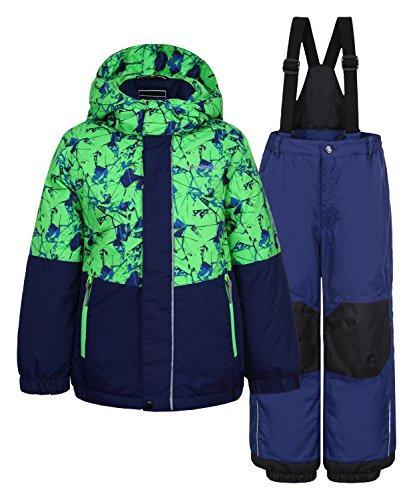 Icepeak Jake - Kinder Schneeanzug Skianzug - 852103522-527, Größe:92