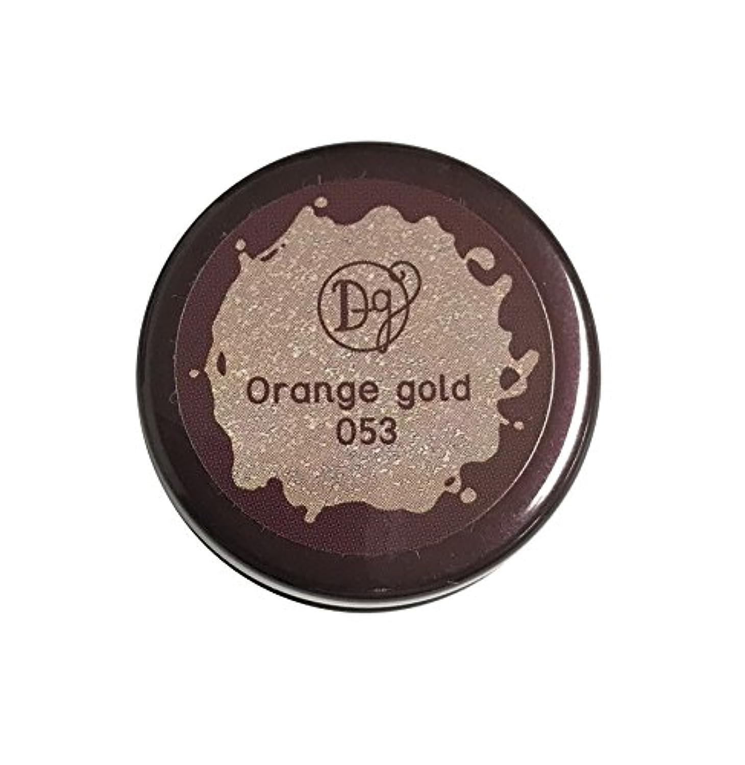 パンチ講義立証するDECORA GIRL カラージェル #053 オレンジゴールド