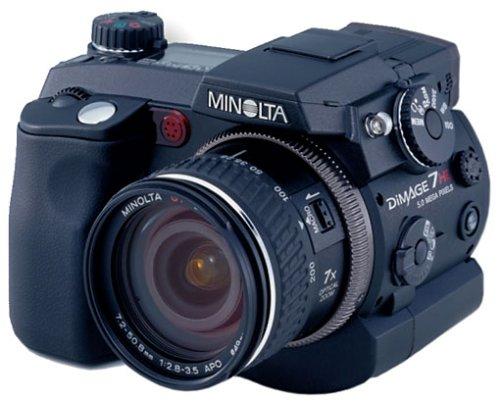 Minolta Dimagé 7Hi Digitalkamera (5,2 Megapixel)
