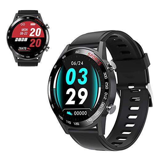 WEINANA Voller Touchscreen Farbbildschirm Sport Gesundheit Bluetooth Uhr Herzfrequenz Blutdruck Blutsauerstoff Smart Armband Runder Bildschirm Smartwatch