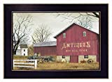 Trendy Decor4U Antique Barn by Billy Jacobs Printed Framed Wall Art Wood Multi-Color